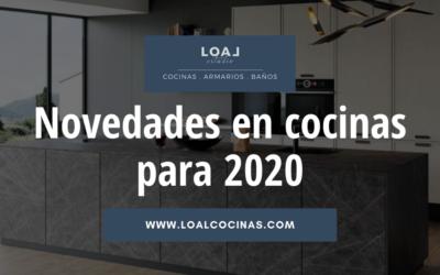 Novedades en cocinas para 2020